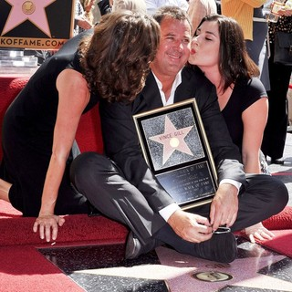 Amy Grant, Vince Gill, Jennifer Jerene Gill in Vince Gill Is Honored with A Star on The Hollywood Walk of Fame