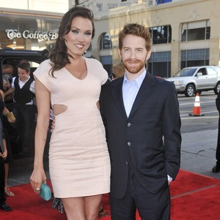 Clare Grant, Seth Green in The Los Angeles Premiere Ted - Arrivals