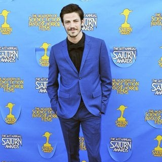 Grant Gustin in The 41st Annual Saturn Awards - Arrivals
