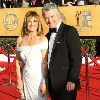 Linda Gray, Patrick Duffy in The 18th Annual Screen Actors Guild Awards - Arrivals