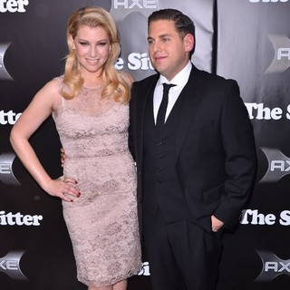 Ari Graynor, Jonah Hill in New York Premiere of The Sitter - Arrivals