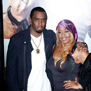"P. Diddy, Janice Combs in Los Angeles Premiere of ""Get Him to the Greek"""