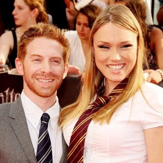 Seth Green, Clare Grant in New York Premiere of Harry Potter and the Deathly Hallows Part II - Arrivals