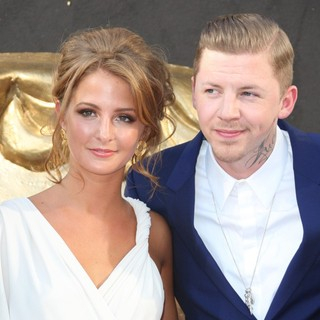 Millie Mackintosh, Professor Green in The 2012 Arqiva British Academy Television Awards - Arrivals