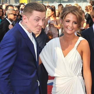 Professor Green, Millie Mackintosh in The 2012 Arqiva British Academy Television Awards - Arrivals