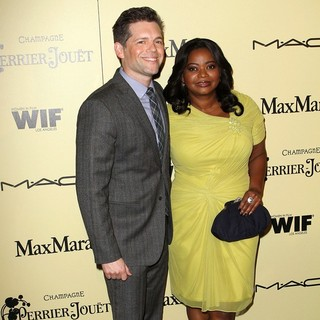 Brunson Green, Octavia Spencer in 5th Annual Women in Film Pre-Oscar Cocktail Party