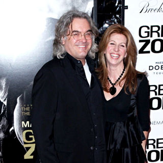 Paul Greengrass, Joanna Kaye in New York Premiere 'Green Zone'