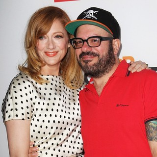 Judy Greer, David Cross in Netflix's Los Angeles Premiere of Season 4 of Arrested Development