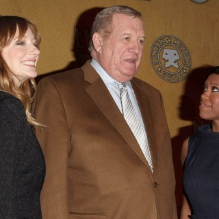 Judy Greer, Ken Howard, Regina King in The 18th Annual Screen Actors Guild Awards Nominations Announcement