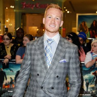 Greg Rutherford in UK Premiere of Captain America: The Winter Soldier