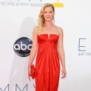 Gretchen Mol in 64th Annual Primetime Emmy Awards - Arrivals