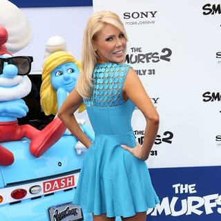 Gretchen Rossi in The Los Angeles Premiere of The Smurfs 2 - Arrivals