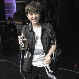 Greyson Chance in Greyson Chance Appears on Much Music's New.Music.Live.