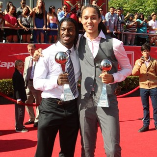 Robert Griffin III, Brittney Griner in 2012 ESPY Awards - Red Carpet Arrivals