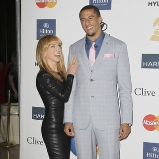 Kathy Griffin, Colin Kaepernick in Clive Davis and The Recording Academy's 2013 Pre-Grammy Gala and Salute to Industry Icons