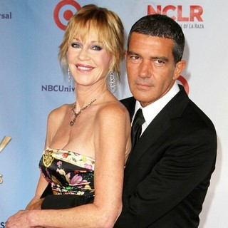Melanie Griffith, Antonio Banderas in 2011 NCLR ALMA Awards - Arrivals