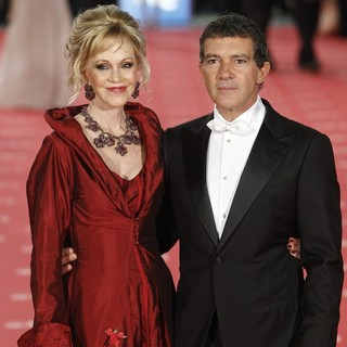 Melanie Griffith, Antonio Banderas in Goya Cinema Awards 2012 Ceremony - Arrivals