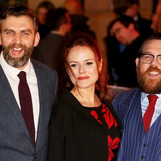 James Griffiths, Nira Park, Nick Frost in World Premiere of Cuban Fury - Arrivals