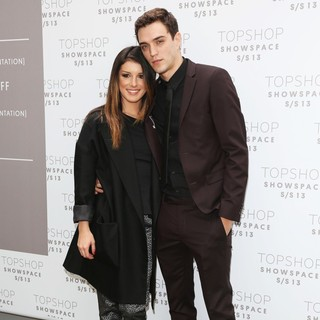 Shenae Grimes, Josh Beech in London Fashion Week Spring-Summer 2013 - Unique - Arrivals