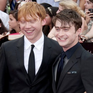 Rupert Grint, Daniel Radcliffe in New York Premiere of Harry Potter and the Deathly Hallows Part II - Arrivals