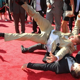 Rob Gronkowski, Gordie Gronkowski in 2012 ESPY Awards - Red Carpet Arrivals
