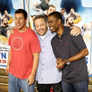 Adam Sandler, Kevin James, Chris Rock in New York Premiere of 'Grown Ups' - Arrivals