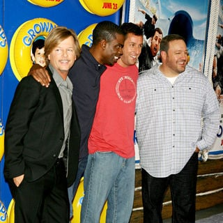 David Spade, Chris Rock, Adam Sandler, Kevin James in New York Premiere of 'Grown Ups' - Arrivals
