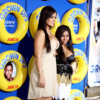 JWoww, Snooki in New York Premiere of 'Grown Ups' - Arrivals