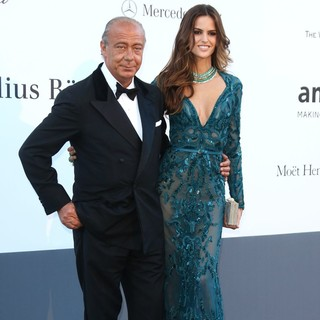 Fawaz Gruosi, Izabel Goulart in 66th Cannes Film Festival - amfAR's 20th Annual Cinema Against AIDS - Arrivals