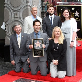 Paul Rudd Honored with A Star on The Hollywood Walk of Fame