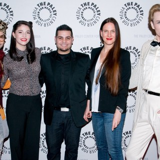 Mondo Guerra, Kenley Collins, Michael Costello, Kara Janx, Austin Scarlett in The Paley Center for Media Presents Project Runway All Stars - Arrivals