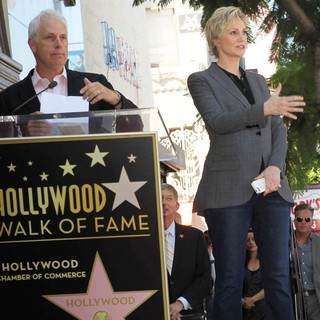 Christopher Guest, Jane Lynch in Jane Lynch Honored on The Hollywood Walk of Fame