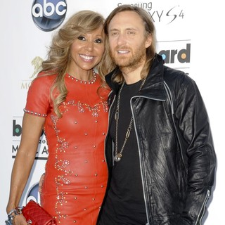 Cathy Guetta, David Guetta in 2013 Billboard Music Awards - Arrivals