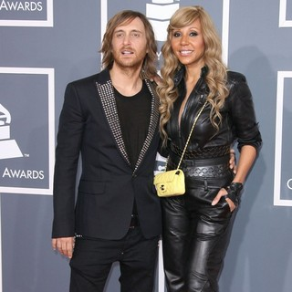 David Guetta, Cathy Guetta in 54th Annual GRAMMY Awards - Arrivals