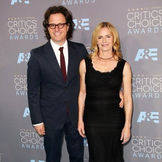 Davis Guggenheim, Elisabeth Shue in 21st Annual Critics' Choice Awards - Arrivals