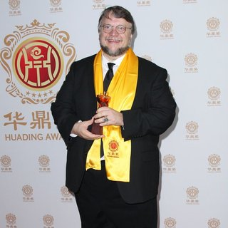 Guillermo del Toro in Hollywood Celebrities Honored at Huading Film Awards - Press Room