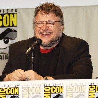 Guillermo del Toro in San Diego Comic-Con International 2014 - Legendary Pictures Panel Press Conference