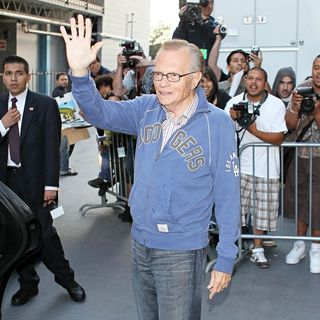 Larry King in Celebrities Raise Money for 'Larry King Live: Disaster in the Gulf' Telethon