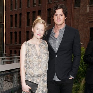 Mamie Gummer, Benjamin Walker in Coach's 2nd Annual Party