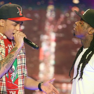 Cory Gunz in BET's 106 and Park New Year's Eve Show - gunz-wayne-bet-s-106-and-park-new-year-s-eve-show-03