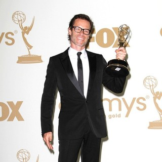Guy Pearce in The 63rd Primetime Emmy Awards - Press Room