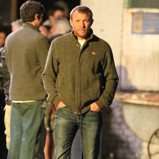 Guy Ritchie in The Man from U.N.C.L.E. Filmed