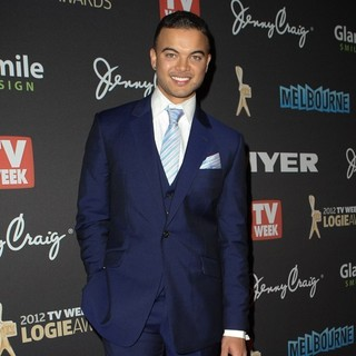 Guy Sebastian in The 2012 Logie Awards - Arrivals - guy-sebastian-2012-logie-awards-01