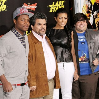 Luis Guzman, Harvey Guillen in The World Premiere of The Last Stand