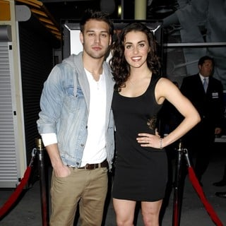 Ryan Guzman, Kathryn McCormick in The Los Angeles Premiere of Gone - Arrivals