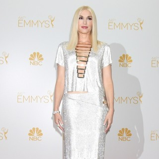 Gwen Stefani in 66th Primetime Emmy Awards - Press Room