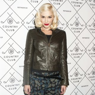 Gwen Stefani, No Doubt in Refinery29 Country Club Launch
