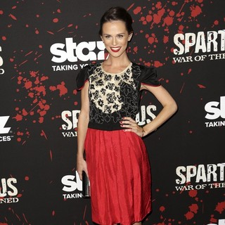Gwendoline Taylor in U.S. Premiere Screening of Spartacus: War of the Damned