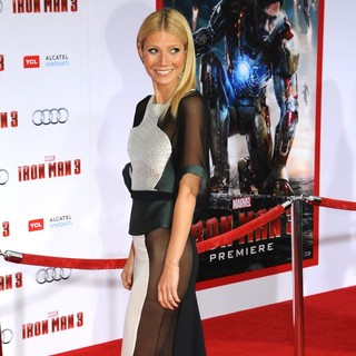 Gwyneth Paltrow in Iron Man 3 Los Angeles Premiere - Arrivals