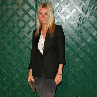 Gwyneth Paltrow in Paul McCartney Holds A Private Party to Premiere His Video My Valentine - Arrivals